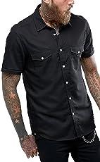 NxtSkin Men's Cotton Half Sleeve Shirt