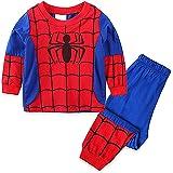 Conjunto de pijama para niños de 2 a 7 años de edad, de manga larga, pantalones elásticos, de algodón, conjunto de ropa de 2