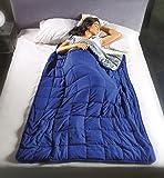 Coperta gravitazionale Calmya 7,0 – usa il peso per facilitare il sonno ed il rilassamento. Pesante 7kg – 180x120cm, x…