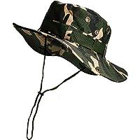 Cappello da pescatore mimetico pieghevole, cappello da sole per attività all'aria aperta, caccia, viaggi, pesca…