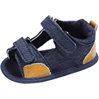 SHOBDW Boys Shoes, Baby Infant Kids Girl Toddler Fashion Canvas Soft Sole Crib Sandals Casual Newborn Summer Shoes