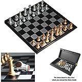Itian Jeu d'échecs Magnétique, Jeux d'échec Voyage pour Adultes et Enfants