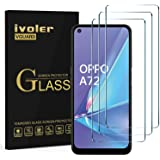 ivoler 3-pack skärmskydd för Xiaomi Redmi Note 10 5G / Oppo A73 5G / A52 / A72 / Realme 8 5G / Realme 7 4G / 5G / Realme 6 /