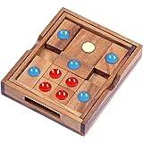 Khun Phan Gr. L - Schiebespiel - Denkspiel - Knobelspiel - Geduldspiel aus Holz