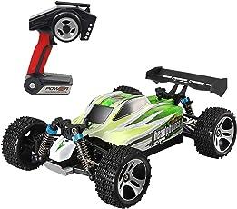 happy event Wltoys A959B Verbesserte 540 Bürstenmotor High Speed 70 km/h 1:18 4D 2,4G RC Auto Spielzeug Für Kinder und Erwachsene