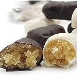 Siciliaanse amandel petit fours met rum en cacao (doos 400gr). RAREZZE: cannoli en cassate van AMBACHTELIJK Siciliaanse banke