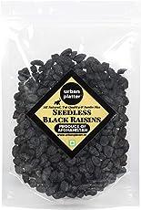 Urban Platter Seedless Black Afghan Raisins, 500g