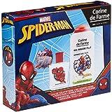 Corine De Farme   Spider-man Coffret Cadeau   Marvel   Parfum Enfant 50ml   Gel Douche Enfant 250ml   Porte-clés   Fabriqué e