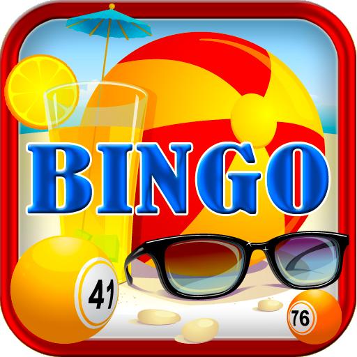 Fantasy Summer Beach Bingo Easy Free Bingo Original Bingo for Kindle Play Offline without internet no wifi Full Version Free Bingo Daubers (Für Den Bingo-spiele Kostenlos Kindle)