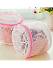 Lukzer 1 PC Mesh Bra Laundry Bags/Sock Lingerie Saver Mesh Net Wash Bag Pouch Basket Laundry/Washing Mesh Net Zipped Lingerie Bag