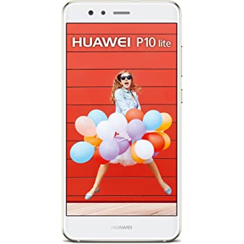 "Huawei P10 Lite Smartphone, 5.2"" FHD, Memoria Interna da 32 GB, Kirin 658 Octa-core, 4 GB RAM, 4G, Android 7.0, Bianco"