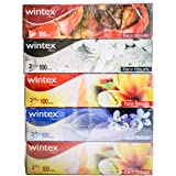 Wintex PRIME 2 Ply Facial Tissue (Pack of 5 boxes, 200 Sheets/100 Pulls per Box)