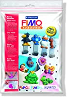 Staedtler 8742 09 Fimo motifli kalıp (komik hayvanlar, detaylı boyama için zorlu motifler, FIMO klasik, FIMO soft, FIMO...