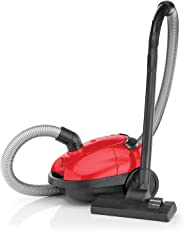 Black and Decker VM1200-B5 Bagged Vacuum Cleaner, 1000W - Red/Black