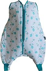 Schlummersack Schlafsack mit Füßen leicht gefüttert in 1.0 Tog - erhältlich in verschiedenen Größen und Designs für Jungen und Mädchen