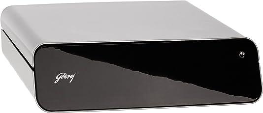 Godrej Security Solutions Goldilocks Personal Locker (Black and Grey)