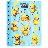 JOYUE Pokemon Kaartenhouder Album, Pokemon Binder voor Kaarten, Kaarten Album Book, Pokemon Card Protector Sleeves, Pokemon C