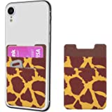 takyu Stick on Card Holder, 2 Pack Adhesive Credit Card Holder Phone Pocket Compatible with iPhone, Samsung, Most Android Sma