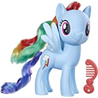 MY LITTLE PONY Toy 6-Inch Fluttershy, Yellow Pony Figure with Rooted Hair and Comb, for Kids Ages 3 Years Old & Up