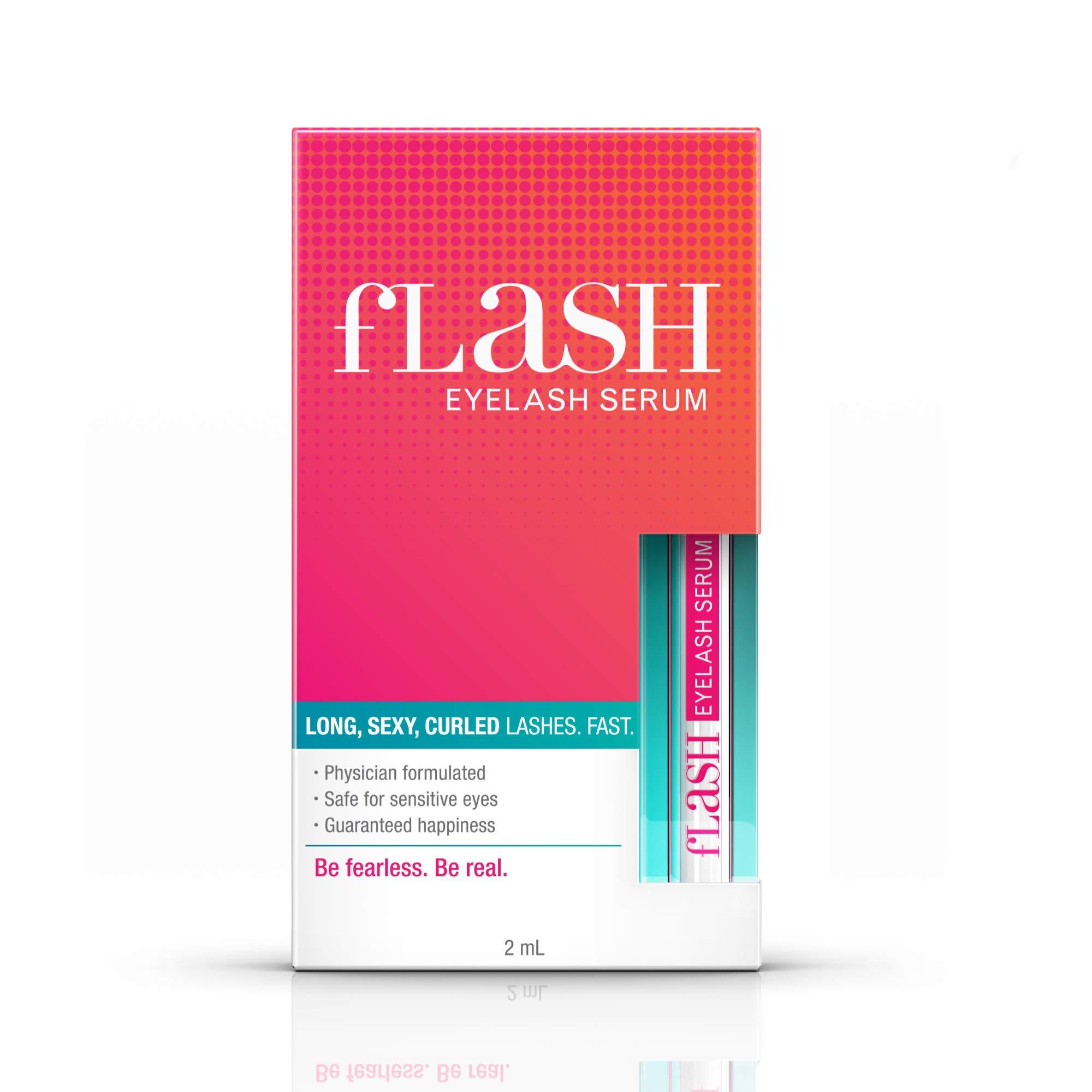 fLASH Suero para pestañas y cejas 2ml.