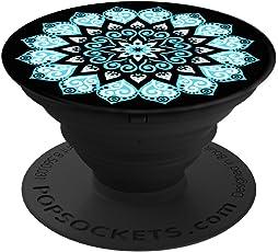 PopSockets: Ausziehbarer Sockel und Griff für Smartphones und Tablets - Peace Mandala Sky