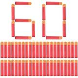 Yosoo Recharge 60 fléchettes sifflantes pour Nerf N-Strike Mega Serie - 9,5 cm