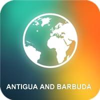 Antigua und Barbuda Karte