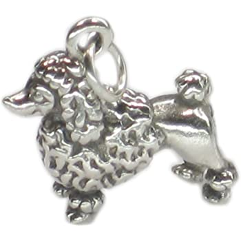 Pug dog sterling silver charm .925 x 1 Pugs Dogs charms SSLP4747