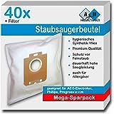 20 sacs d'aspirateur Staubbeutel-Profi® pour AEG Equipt AEQ 10+, Equipt AEQ 10, Equipt AEG 11+, Equipt AEQ 11