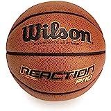 Wilson Pelota de Baloncesto Reaction Pro Cuero sintético Interior y Exterior, Unisex-Adult