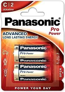 Panasonic Pro Power Alkali Batterie Baby C Lr14 2er Pack
