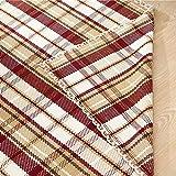 esteras dormitorio Algodon tejido a mano algodon Mats Environmentally Friendly algodón almohadilla absorbente las esteras de la moqueta felpudo entrada pasillo Skid Pad Mat de yoga (Inglaterra amantes) alfombras de baño ( Tamaño : 60*90 )