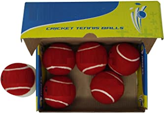 QUINERGYS Hand- Seamed Nitro Heavy Tennis Cricket Ball