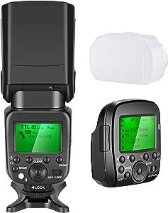 Neewer Speedlite 2 4 G Wireless 1 8000s Hss Ttl Gn58 Blitz Blitzgerät