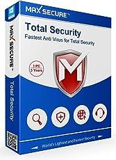Max Secure Antivirus - 1 PC's, 3 Year (Voucher)