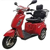 Veleco Seniorenmobil 4 Rad Elektromobil Elektroroller 1000w Faster Rot Drogerie Körperpflege
