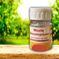 Green Wood Waste decomposer ncof Ghaziabad 4 Bottle Packing | Waste decomposer Organic Compost Maker for Home Plants…