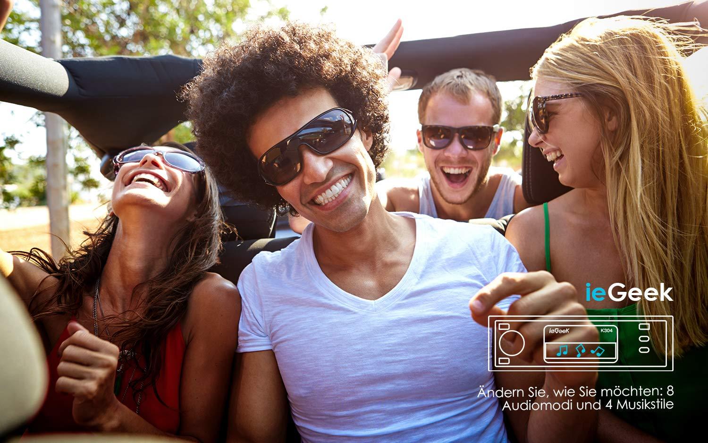 ieGeek-Autoradio-Bluetooth-Freisprecheinrichtung-7-LED-Farben-Universal-1-Din-Autoradio-60W-X-4-RDS-MP3-FMAMSDAUXUSB