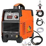 HITBOX Plasma Cutter 40A 220V Electric DC Inverter Air Plasma Cutting Machine CUT40 Metal Cutter(Model:CUT40)