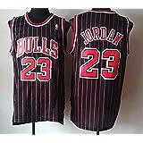 Zhao Xuan Trade Jersey Bulls Masculino Campeón de la NBA Vintage Michael Jordan Jersey Chicago Bulls # 23 Jersey de Baloncest