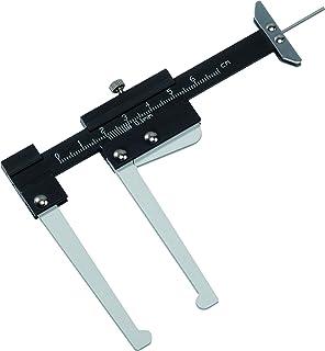 Durchf/ührung ohne Rad-Demontage, schnell und effizient, gut lesbare Skala V4399 Vigor Bremsscheiben-Dickenmesser