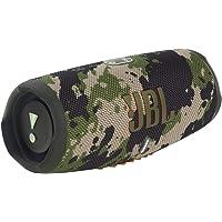 JBL Charge 5 Bluetooth-Lautsprecher in Camouflage – Wasserfeste, portable Boombox mit integrierter Powerbank und Stereo…