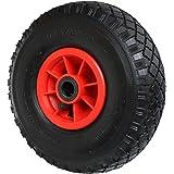 Pneumatisch wiel 260 x 85 x 20 mm - 3. 00-4 PR2 - voor Kruiwagens, Handkarren, Zak Vrachtwagens Etc. Max. belasting: 136 kg