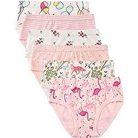 Confezione da 6 Piccola Bambine e Ragazze Biancheria Intima in Cotone da 1 a 7 Anni, Mutandine delle Neonate Undies…