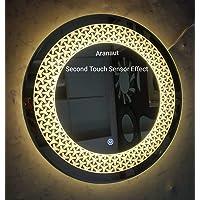 ARANAUT Beautiful Modern Designed LED Mirror Lights with Sensor. (Yellow , 21x21)