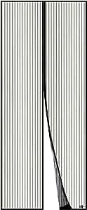 Portes NO LOGO Moustiquaire sur Mesure Aimant/éE 70x190cm Porte Moustiquaire Facile /à Installer sans Percer Animaux Accept/éS pour Couloirs Brown