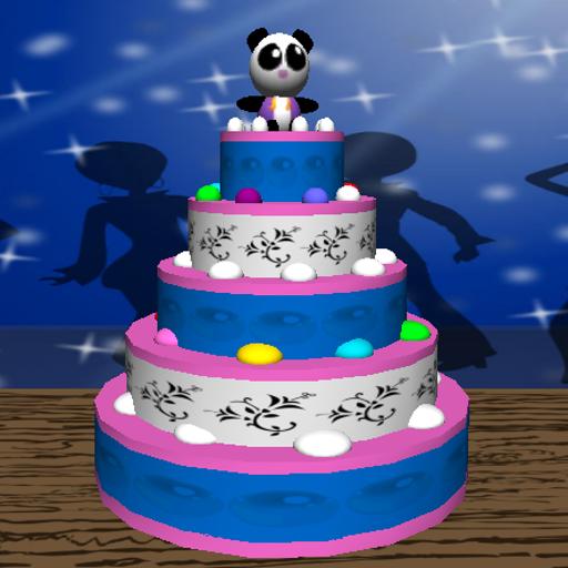Cake Designer 3D Disco Chick