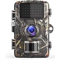 Ancocs Caméra de Chasse 14MP 1080P IP66 Étanche Surveillance HD Caméra Infrarouge Caméra de Faune De Jeu avec Détecteur…