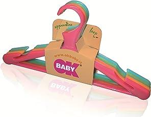 Okbaby Loop Hangers (Pack of 4, Multicolor)