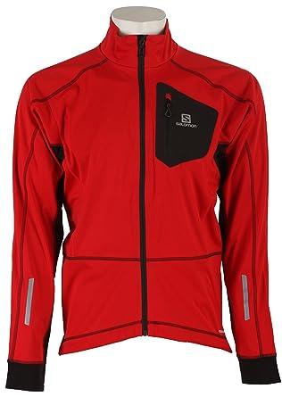 Salomon Equipe Softshell Jacket M matador xblack